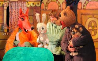 """Кукольный спектакль """"Сказка для непослушных медвежат"""""""