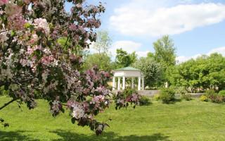 Сад музея – усадьбы Г. Р. Державина