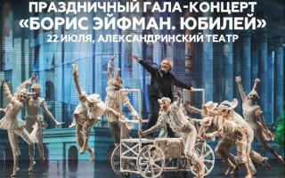 Балет «Гала-концерт Борис Эйфман. Юбилей»