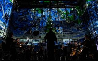 """Концерт """"Вивальди. Времена года"""" в темноте загадочной Аннекирхе. Фото из ВК"""