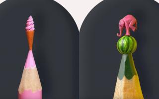 Выставка скульптур «На грифеле карандаша»