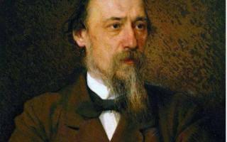 Иван Крамской - портрет Николая Некрасова, 1877 г.