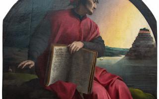 Аллегорический портрет Данте Алигьери (1532-1533). Аньоло Бронзино (Аньоло ди Козимо ди Мариано, 1503 – 1572). Частная коллекция Леонида Богуславского