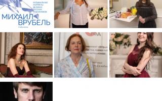 Проект «Музыкальные портреты великих русских художников»