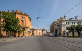 Инженерная улица. Фото: Florstein (WikiPhotoSpace)
