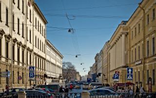 Итальянская улица в Санкт-Петербурге. Фото: Florstein (Wikimedia Commons)