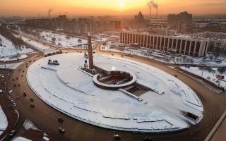Площадь Победы, источник фото: Wikimedia Commons, Автор: Ivan Smelov