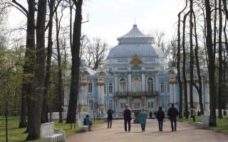 Царское Село. Павильон «Эрмитаж». Автор: Peterburg.center