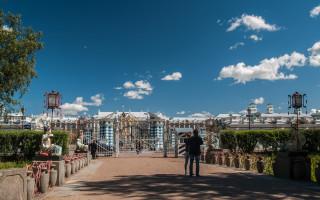 Большой Китайский мост в Александровском парке, Пушкин. Фото: Елена Кириллова (vk.com/saint_petersburg_spb)