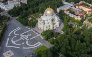 Кронштадт. Якорная площадь. Фото: Николая Иванова