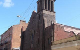 Храм Лурдской Божией Матери (Санкт-Петербург). Фото: Boleslav1 (Wikimedia Commons)