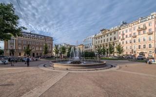 Фонтан на Манежной площади. Автор: Florstein, Wikimedia Commons
