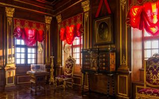 Убранство Орехового кабинета. Фото: Alexey Komarov (Wikimedia Commons)