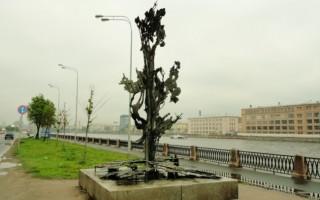 Памятник Альфреду Нобелю в Санкт-Петербурге, источник фото: http://vivaspb.com/visit/monuments/1281-pamyatnik-alfredu-nobelyu.html
