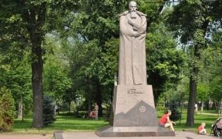 Памятник Н. К. Рериху, источник фото: http://excava.ru/roerich-memorial/