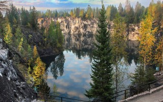 Горный парк Рускеала, источник фото: Wikimedia Commons Автор: Aleksander Kaasik