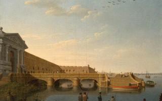 Санкт Петербург. Гравюра XVIII века