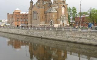 :Храм Воскресения Христова у Варшавского вокзала. Автор: Maryanna Nesina, Wikimedia Commons
