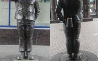 Памятник бравому солдату Швейку в Санкт-Петербурге, источник фото:из Википедии — свободной энциклопедии. Автор фотографии: Гамлиэль Фишкин