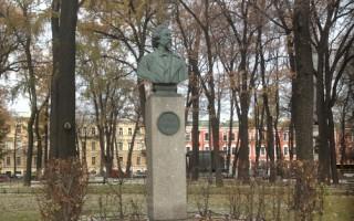 Памятник И.Е.Репину. Фотография Воробьёвой Веры, источник фото: https://sites.google.com/site/penaty1/pamat-o-repene