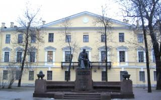 Памятник М. Ю. Лермонтову (Санкт-Петербург), источник фото: http://worldwalk.info/ru/catalog/589/