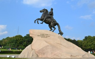 """Памятник """"Медный всадник"""", источник фото: pixabay.com"""