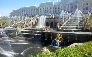 Петергоф Петербург Петродворец