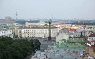 Вид с Исаакиевского собора. Alexxx1979 https://commons.wikimedia.org/