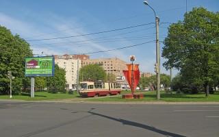 Площадь Мужества, источник фото: Wikimedia Commons, Автор: Екатерина Борисова