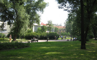 Санкт-Петербург. Московский проспект, сад Олимпия. Фото: Peterburg23