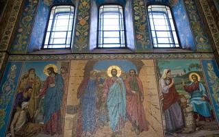 Собор Воскресения Христова Мозаики на стенах храма, источник фото: Wikimedia Commons, Автор: Платонова Алина