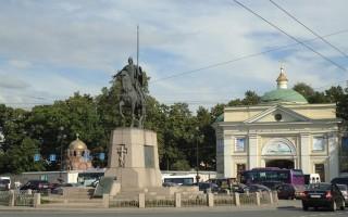 Площадь Александра Невского, источник фото: http://excava.ru/alexander-nevsky-square/