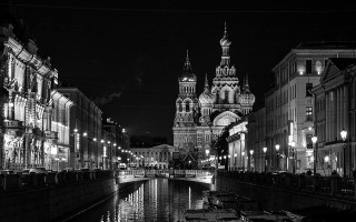 Ночной Санкт-Петербург, источник фото: https://pixabay.com/ru/санкт-петербург-ноной-петербург-1034319/