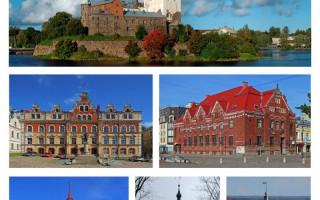 Коллаж Выборг. Авторы: A.Savin, Ghirlandajo, Maleevsw, Helga-Tigrokisa