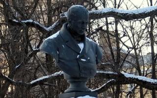 Памятник В. А. Жуковскому, источник фото: http://history.gradpetra.net/pamyatnik/0/4064.html