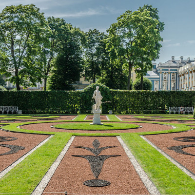 Екатерининский парк в Царском селе, Санкт-Петербург. Автор фото: Florstein (WikiPhotoSpace)