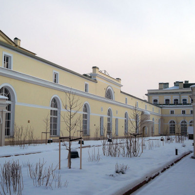 Висячий сад зимой 2012 года.  Автор: Tura8,  Wikimedia Commons