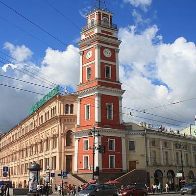 Башня Городской думы. Автор: Kora27, Wikimedia Commons