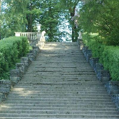 Лестница Большая Каменная (Итальянская). Автор: Poliglot, Wikimedia Commons