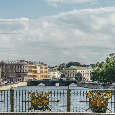 Пантелеймоновский мост. Автор: Florstein, Wikimedia Commons