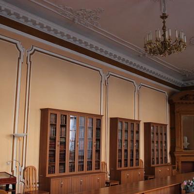 Малый зал Шуваловского дворца. Автор: Museumhygiene, Wikimedia Commons