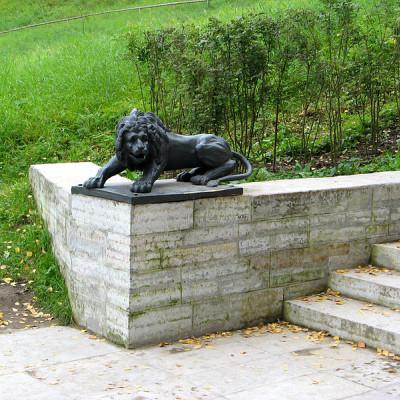 Лев на лестнице. Автор: Екатерина Борисова, Wikimedia Commons