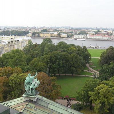 Александровский сад. Автор: Andrew Butko, Wikimedia Commons