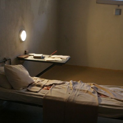 Камера Троцкого в тюрьме Трубецкого бастиона