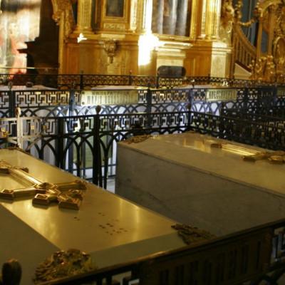 Захоронения в Петропавловской крепости - Императрица Мария Федоровна
