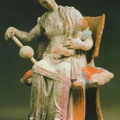 Афродита с Эротом. II век, источник фото: https://www.hermitagemuseum.org/