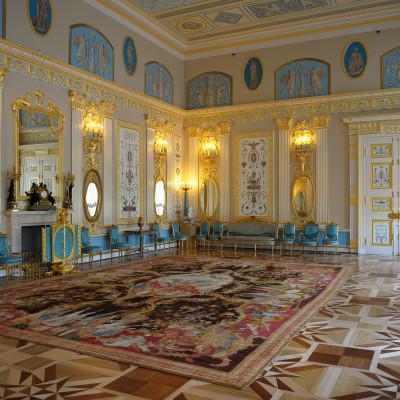 Екатерининский дворец, Арабесковый зал. Автор: Aleks G, Википедия