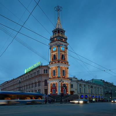 Башня Городской думы. Автор: Pavlikhin, Wikimedia Commons