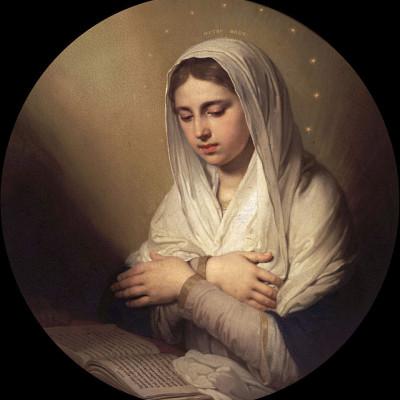 """Дева Мария(Из """"Благовещения""""), источник фото: http://www.liveinternet.ru/users/bolivarsm/post328103387/"""