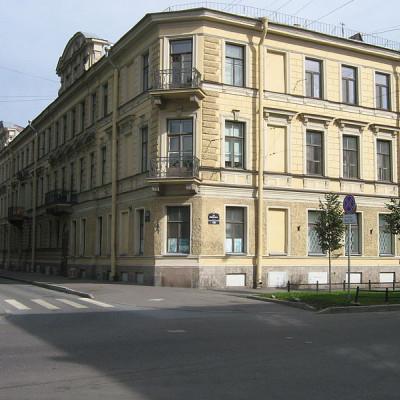 Доходный дом В. Ф. Громова, дом № 6, источник фото: Wikimedia Commons, Автор: Peterburg23